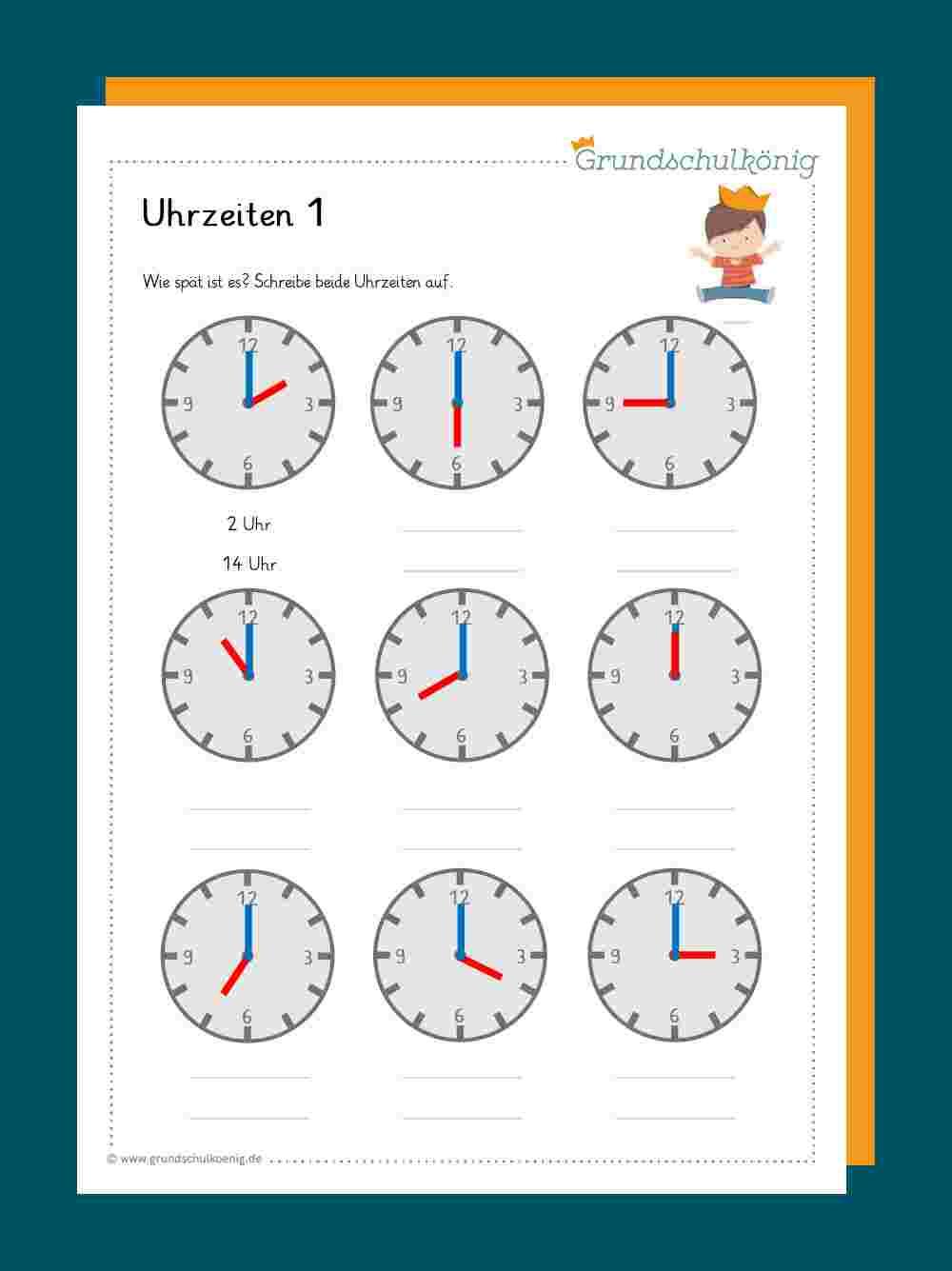 Rechnen mit Uhrzeiten
