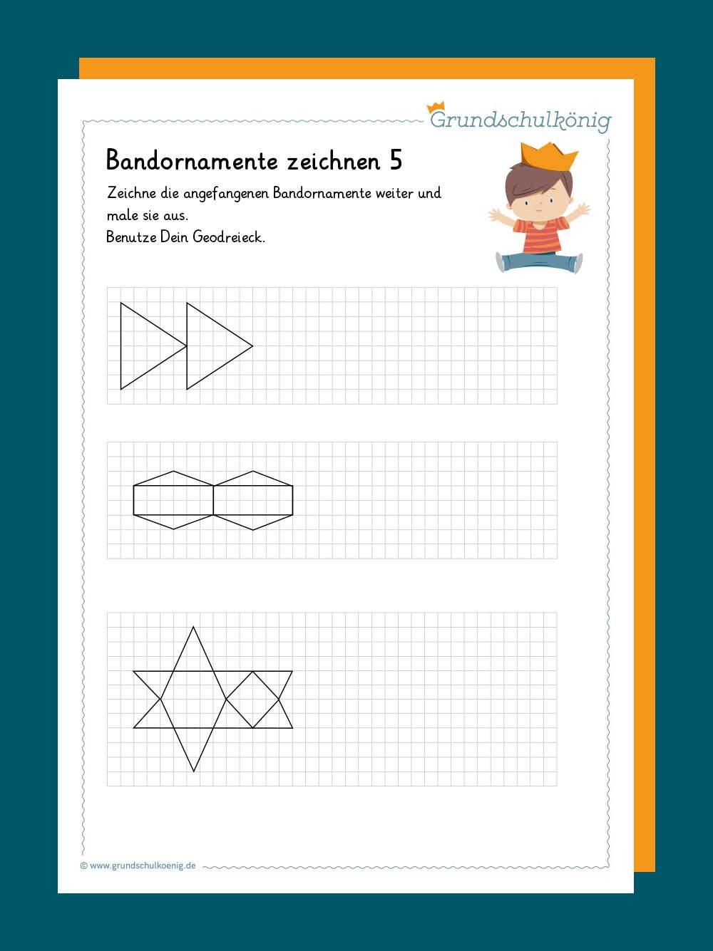 Zirkel Arbeitsblatt In Der Grundschule Geometrie 11