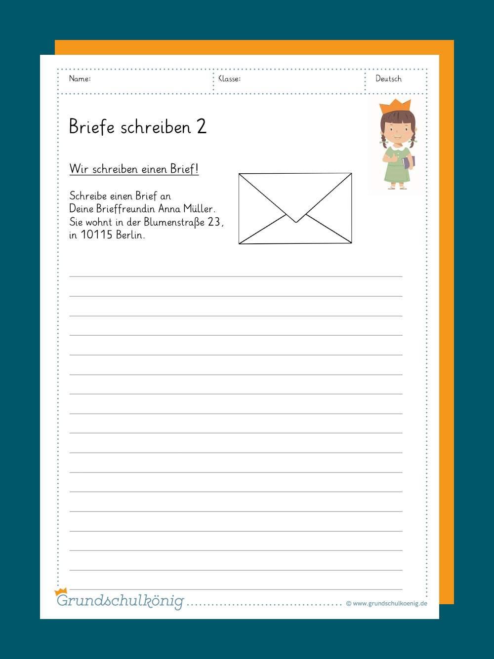Thema brief urlaub schreiben Schöne Briefe