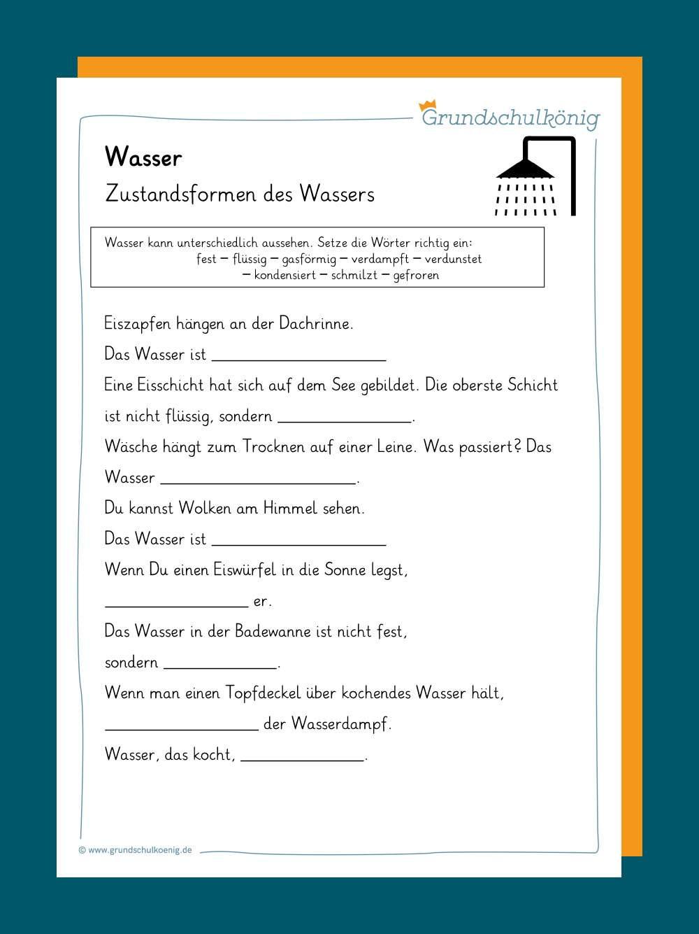 Wasser / Wasserkreislauf