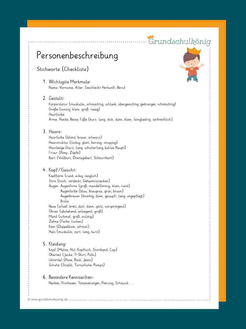 Deutsch Arbeitsmaterialien Arbeitsblatter 14