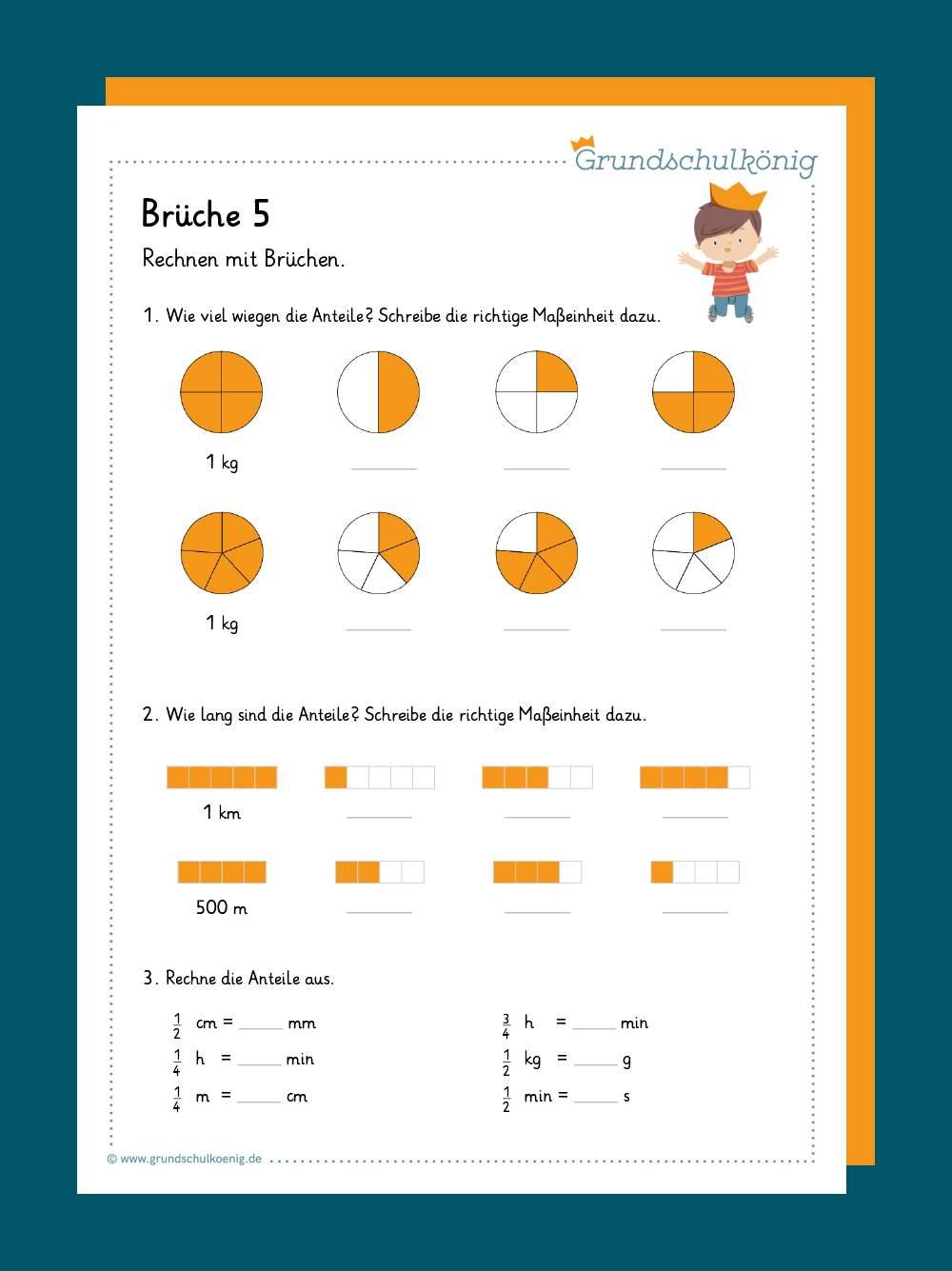 Brüche   Mathe