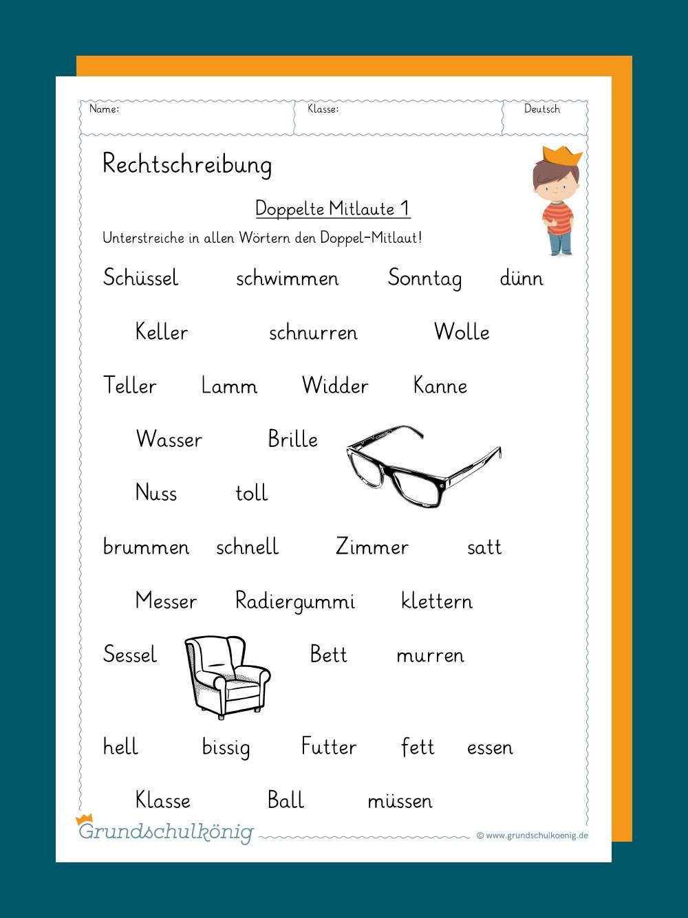 Deutsche Beispiele Fur Konsonanten Passt
