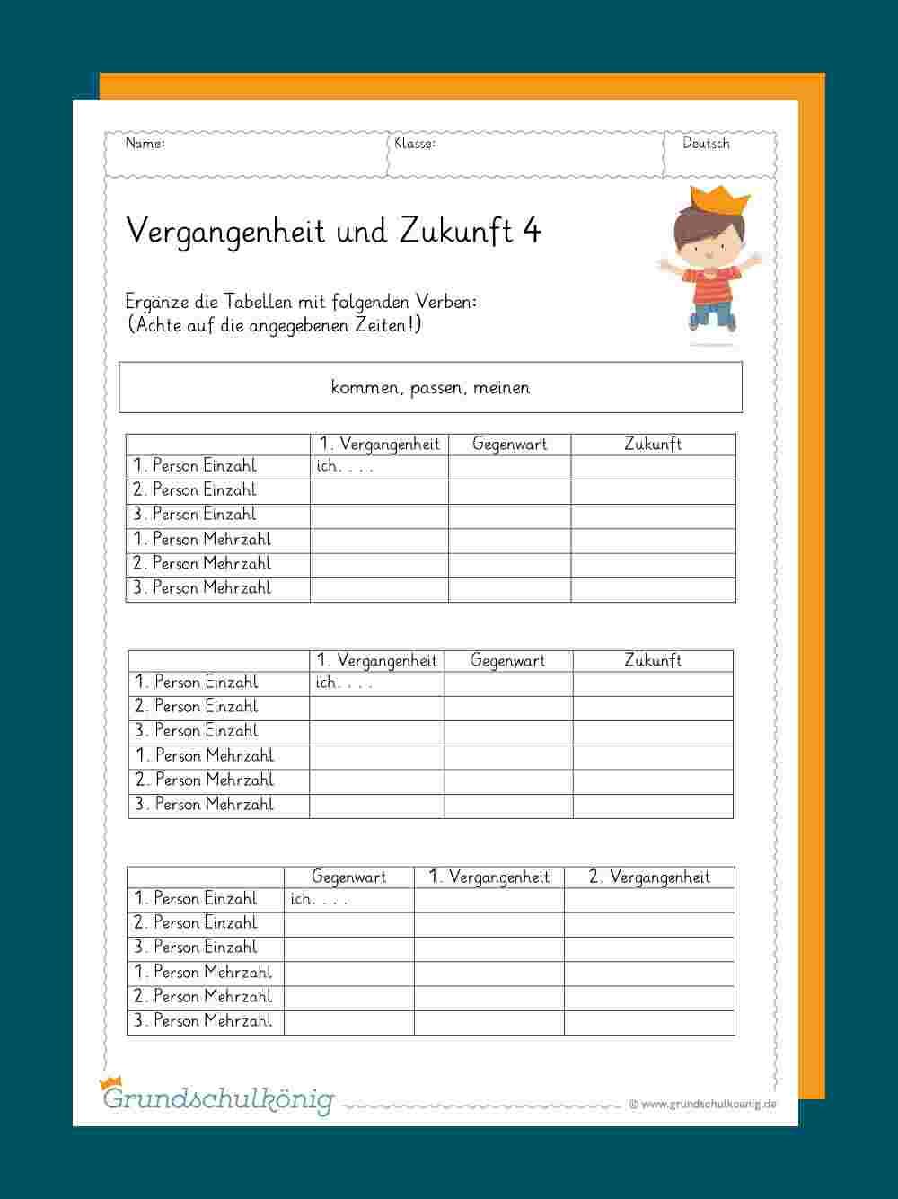 Deutsch Übungsblätter Zum Ausdrucken   aov