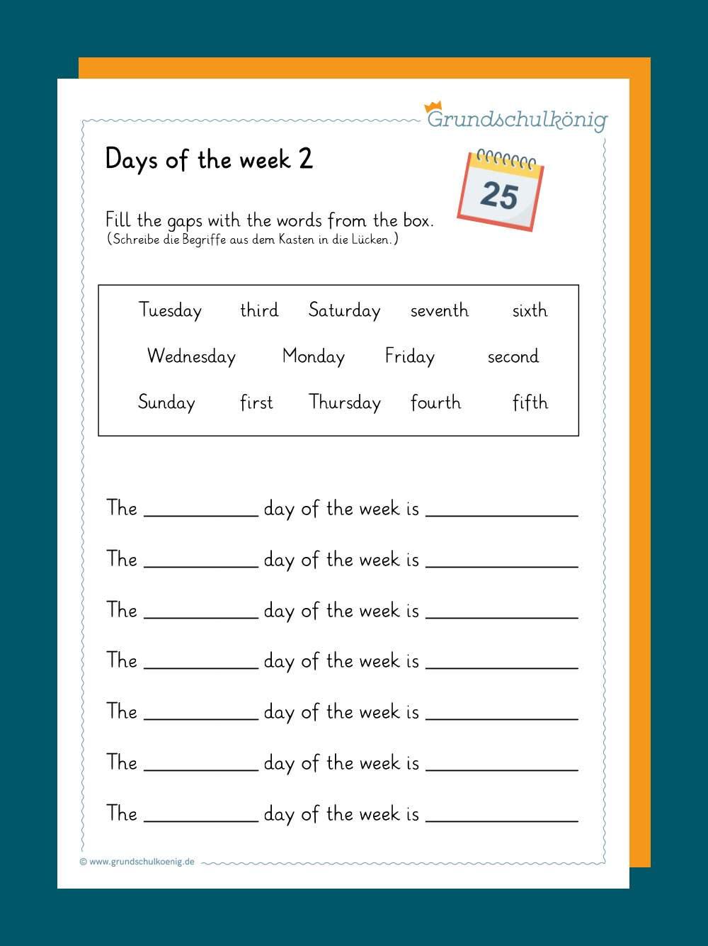 Calendar / Kalender
